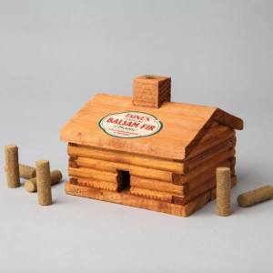 Log Cabin Burner