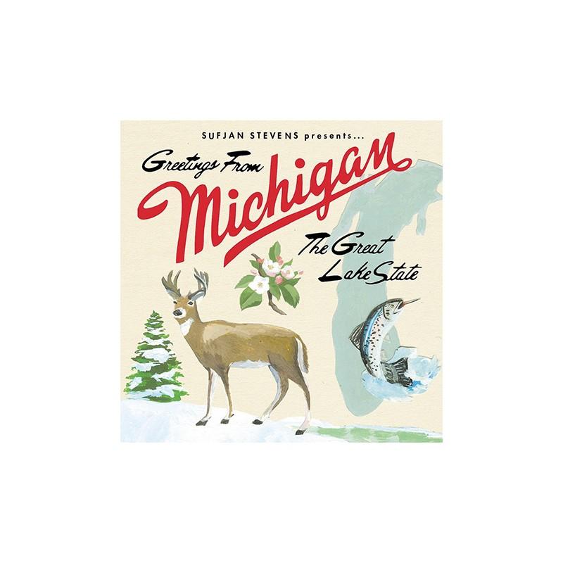 Sufjan stevens greetings from michigan the great lake state lp greetings from michigan the great lake state m4hsunfo